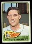 1965 Topps #252  Pete Richert  Front Thumbnail