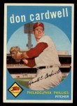 1959 Topps #314  Don Cardwell  Front Thumbnail