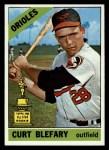 1966 Topps #460  Curt Blefary  Front Thumbnail