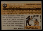 1960 Topps #139   -  Carl Mathias Rookie Star Back Thumbnail