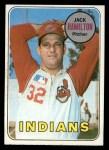 1969 Topps #629  Jack Hamilton  Front Thumbnail