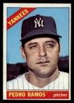 1966 Topps #439  Pedro Ramos  Front Thumbnail