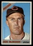 1966 Topps #133  Don McMahon  Front Thumbnail