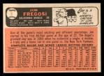1966 Topps #5  Jim Fregosi  Back Thumbnail