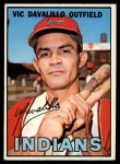 1967 Topps #69  Vic Davalillo  Front Thumbnail