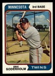 1974 Topps #503  Eric Soderholm  Front Thumbnail