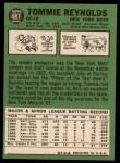 1967 Topps #487 ^COR^ Tommie Reynolds  Back Thumbnail