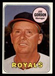 1969 Topps #484  Joe Gordon  Front Thumbnail