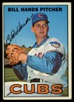 1967 Topps #16  Bill Hands  Front Thumbnail