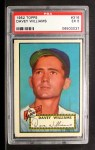 1952 Topps #316  Davey Williams  Front Thumbnail