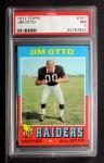 1971 Topps #151  Jim Otto  Front Thumbnail