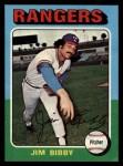 1975 Topps #155  Jim Bibby  Front Thumbnail