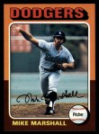 1975 Topps #330  Mike Marshall  Front Thumbnail