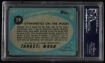 1957 Topps Target Moon #59   Gymnastics on Moon  Back Thumbnail