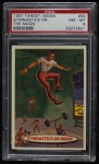 1957 Topps Target Moon #59   Gymnastics on Moon  Front Thumbnail