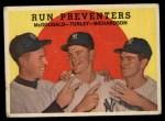 1959 Topps #237   -  Gil McDougald / Bob Turley / Bobby Richardson Run Preventers Front Thumbnail