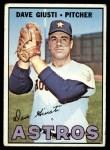 1967 Topps #318  Dave Giusti  Front Thumbnail