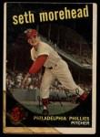 1959 Topps #253  Seth Morehead  Front Thumbnail