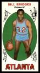 1969 Topps #86  Bill Bridges  Front Thumbnail