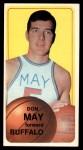 1970 Topps #152  Don May   Front Thumbnail