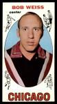 1969 Topps #62  Bob Weiss  Front Thumbnail