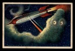1951 Bowman Jets Rockets and Spacemen #33   Battling Space Cell Front Thumbnail