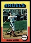 1975 Topps #533  Rudy Meoli  Front Thumbnail