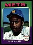 1975 Topps #575  Gene Clines  Front Thumbnail