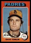1975 Topps #578  Dave Tomlin  Front Thumbnail