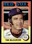 1975 Topps #586  Tim McCarver  Front Thumbnail