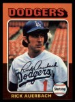 1975 Topps #588  Rick Auerbach  Front Thumbnail