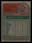 1975 Topps #403  Tom Buskey  Back Thumbnail