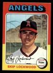 1975 Topps #417  Skip Lockwood  Front Thumbnail