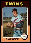 1975 Topps #419  Dave Goltz  Front Thumbnail