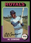 1975 Topps #437  Al Cowens  Front Thumbnail
