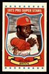 1973 Kelloggs 2D #40  Lou Brock  Front Thumbnail
