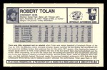 1973 Kelloggs #32  Bobby Tolan  Back Thumbnail