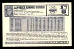 1973 Kelloggs #53  Larry Dierker  Back Thumbnail