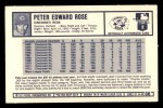1973 Kelloggs 2D #6  Pete Rose  Back Thumbnail