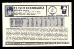 1973 Kelloggs #2  Ellie Rodriguez  Back Thumbnail