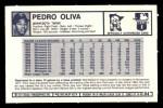 1973 Kellogg's #4  Tony Oliva  Back Thumbnail