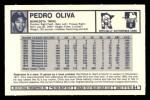 1973 Kelloggs 2D #4  Tony Oliva  Back Thumbnail