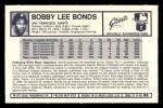 1973 Kelloggs #8  Bobby Bonds  Back Thumbnail