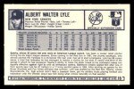1973 Kelloggs #15  Sparky Lyle  Back Thumbnail