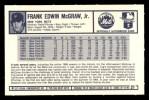 1973 Kelloggs #21  Tug McGraw  Back Thumbnail