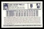 1973 Kelloggs 2D #24  Lou Piniella  Back Thumbnail
