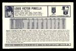 1973 Kelloggs #24  Lou Piniella  Back Thumbnail