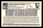 1973 Kelloggs 2D #16  Nolan Ryan  Back Thumbnail