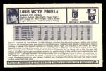 1973 Kellogg's #24  Lou Piniella  Back Thumbnail