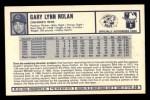 1973 Kelloggs #30  Gary Nolan  Back Thumbnail